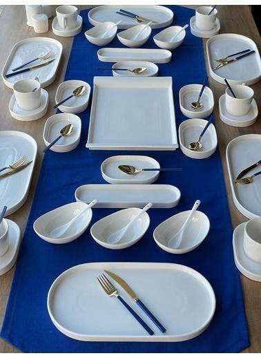 ROSSEV Kahvaltı Takımı Pure Marla 66 Parça 6 Kişilik Renkli